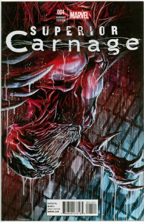 Superior Carnage #1 Marco Checchetto Retail Variant 1:25 Marvel comic book